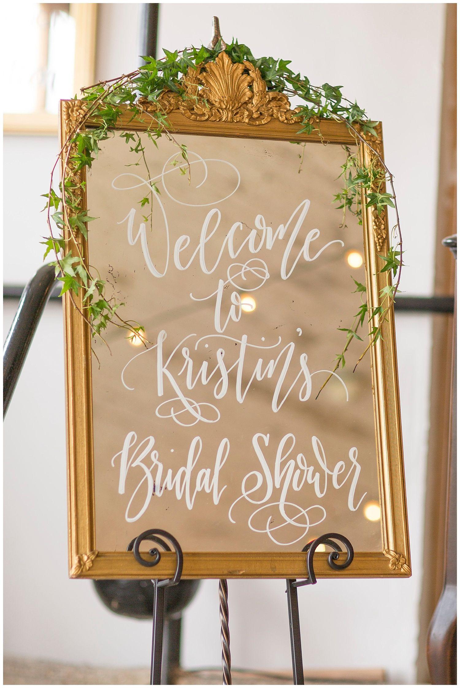 Rustic + Elegant Bridal Shower Inspiration at