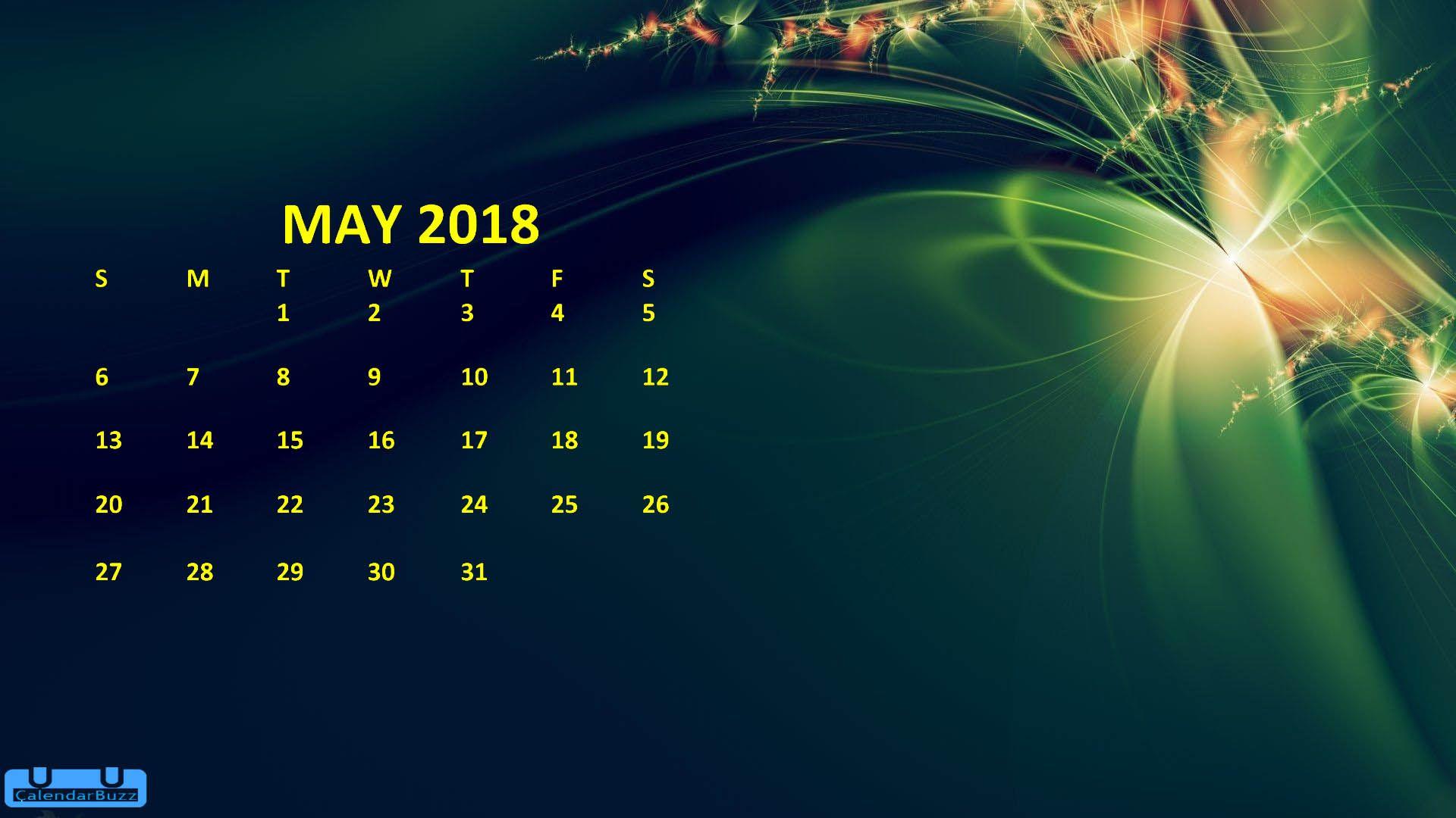 may 2018 calendar hd