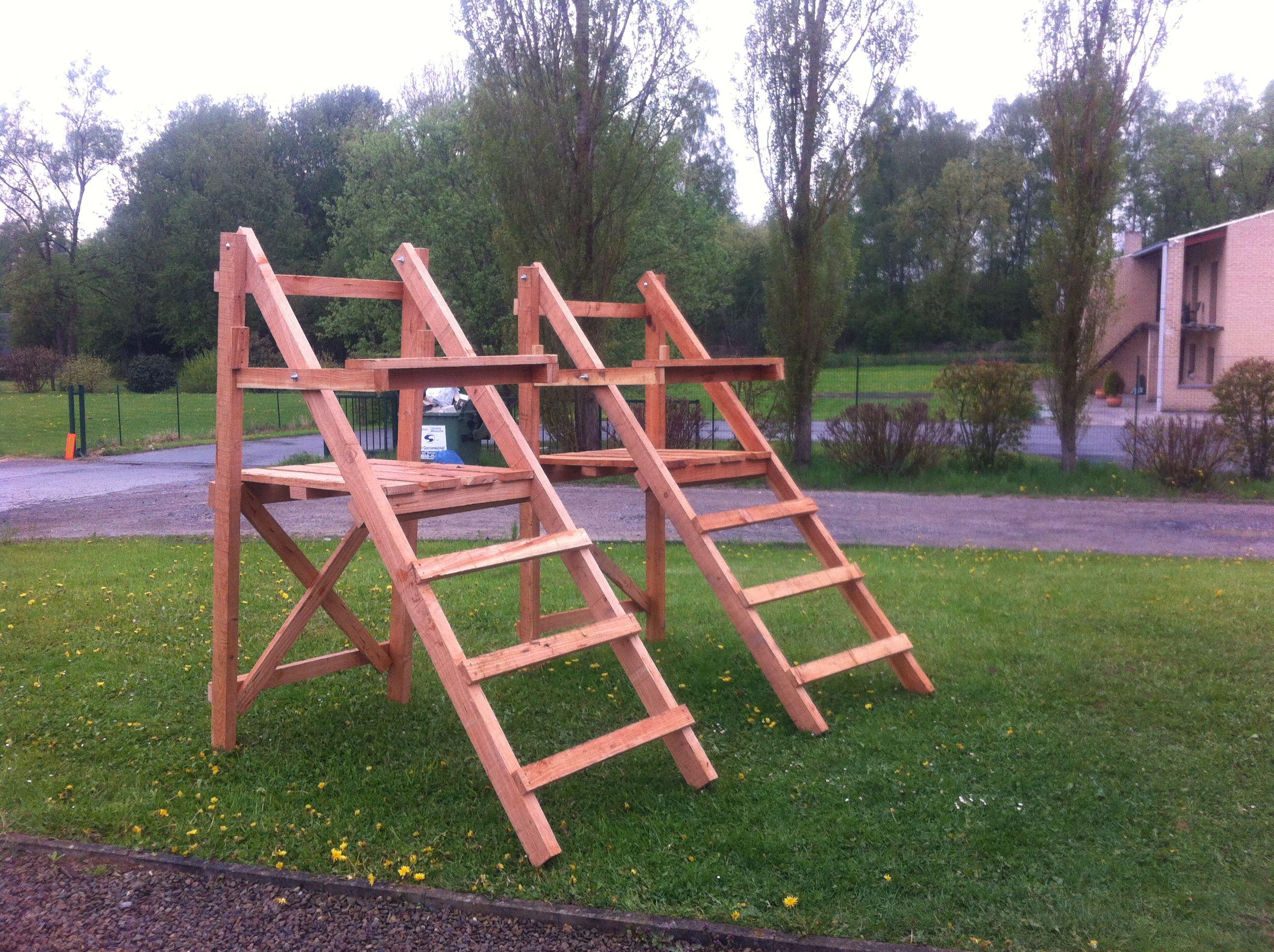 high chair deer stand gaming reviews xbox one mirador en douglas a 90  hauteur de plancher 1 50 las