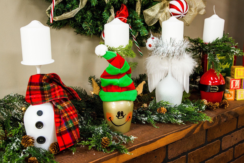 Fun And Festive Diy Christmas Wine Glass Votives By Paige Hemmis