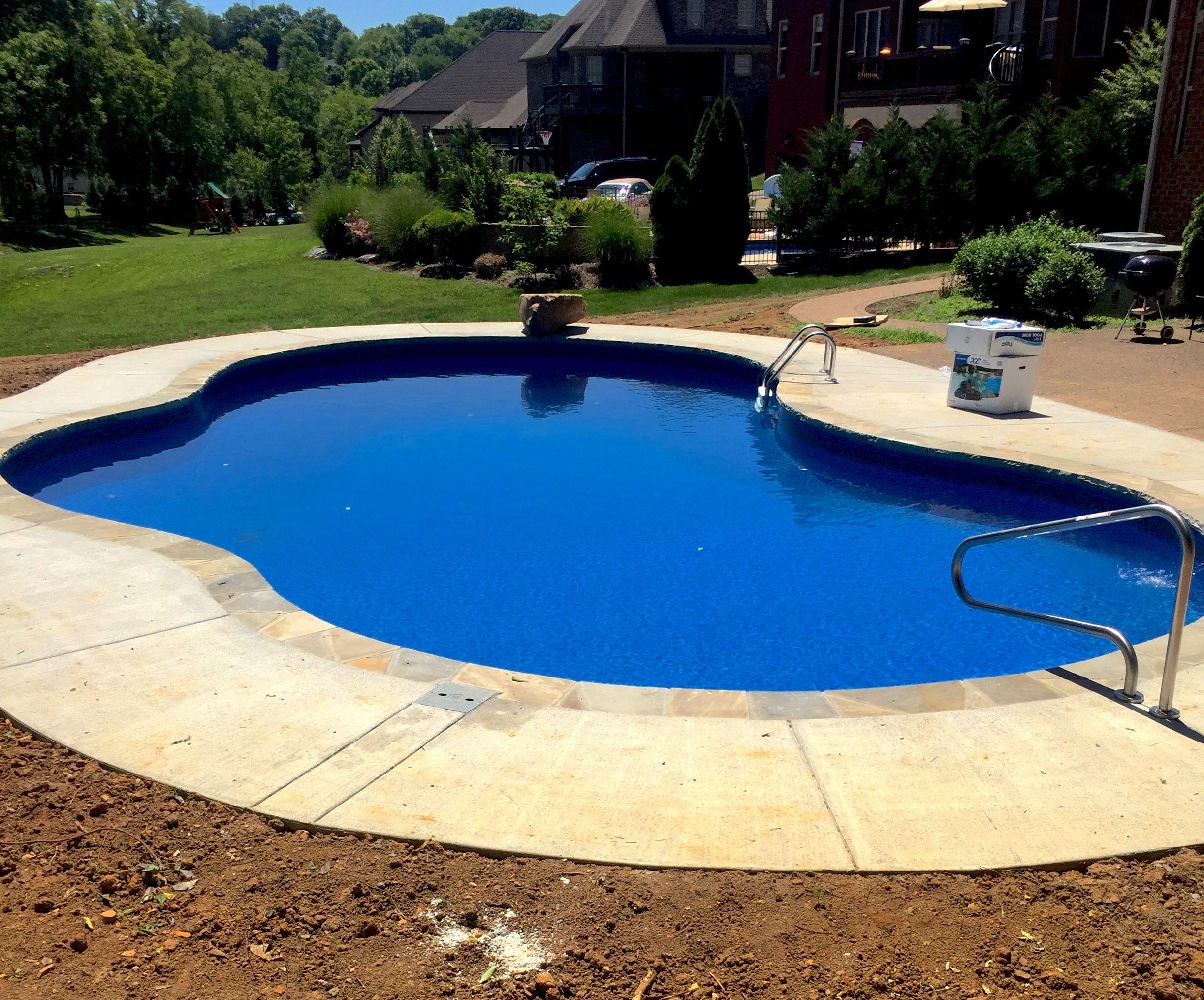 Pin On Concrete Wall Inground Pools