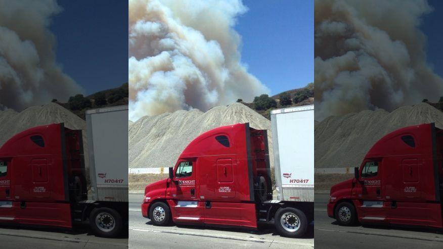 2015625 SpokesmanReview Wildfires burn across