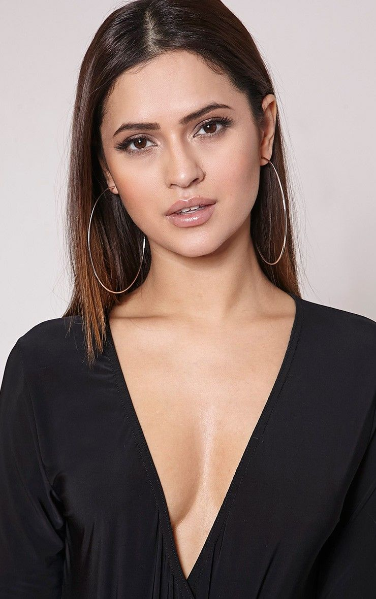 Silver Large Hoop Earrings Add Knock Out Glamour To Any Outfit With These Oversized And Super Ch