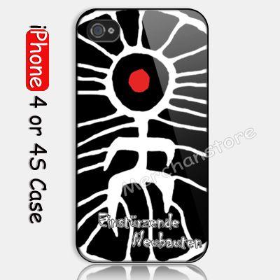 Einsturzende Neubauten Custom iPhone 4 or 4S Case Cover