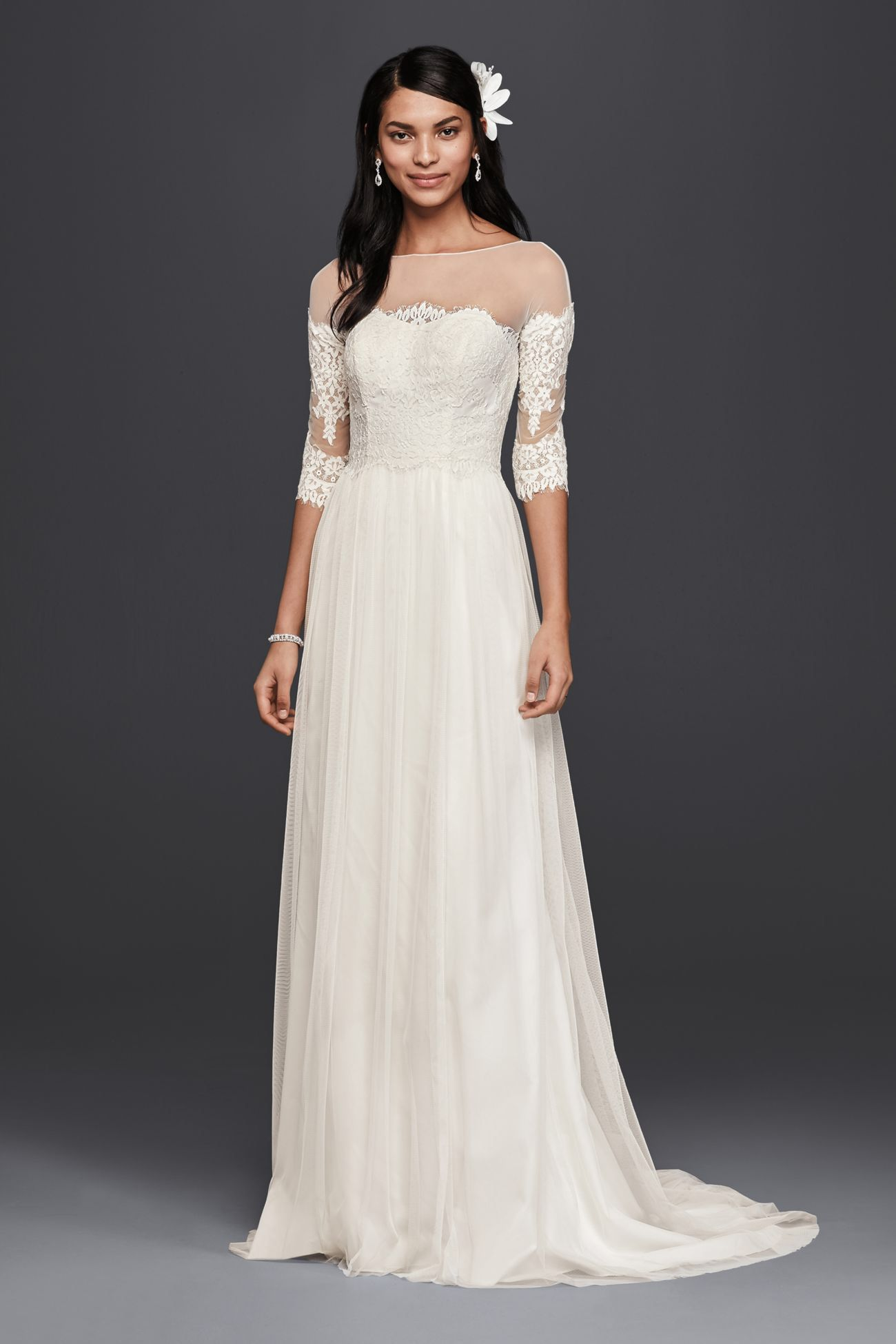 My New Favorite Www Davidsbridal Com 10681819 Petite Wedding Dress Davids Bridal Wedding Dresses Wedding Dresses Lace