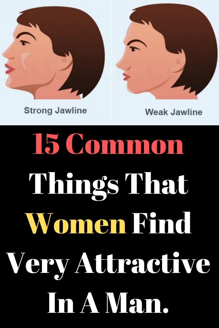 What do women find attractive in a man face