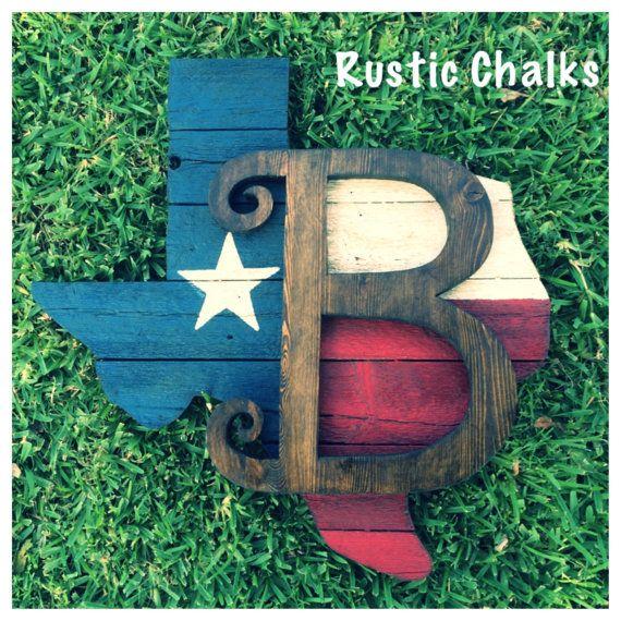 Rustic Texas Wall/door Board In 2019
