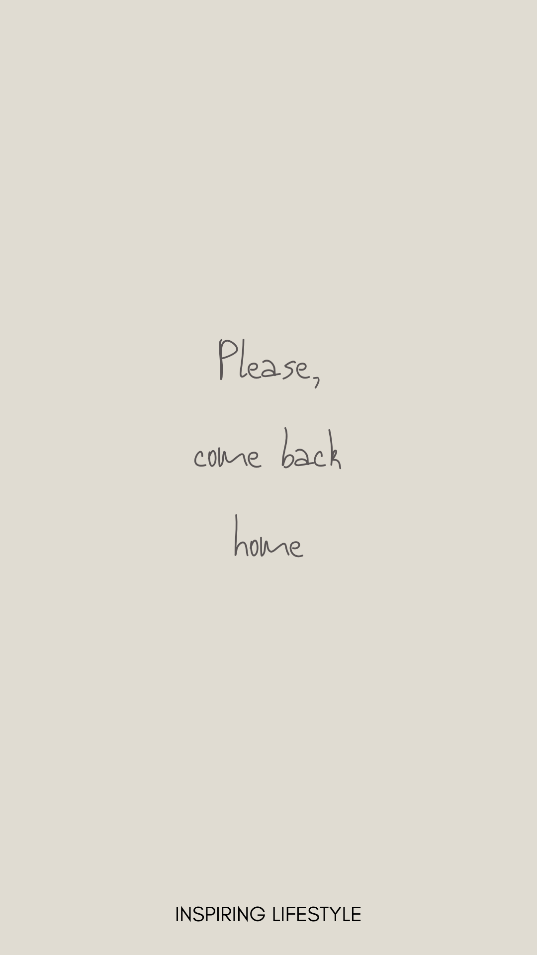 Home is where you are. I miss you, please come back ♥ in ...