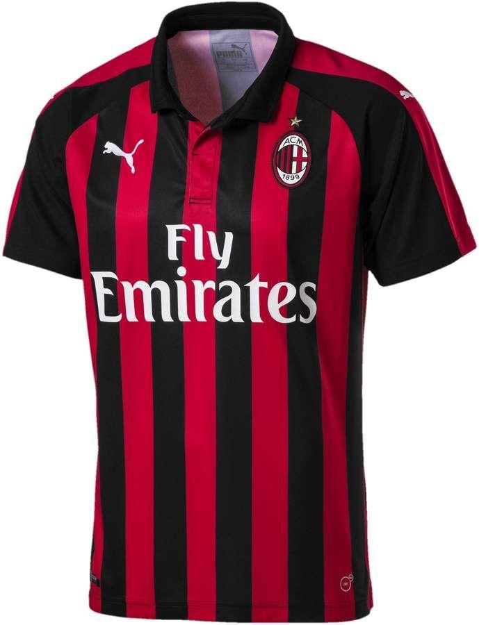 PUMA AC Milan Stadium Jersey SS with Sponsor Camisa para Hombre