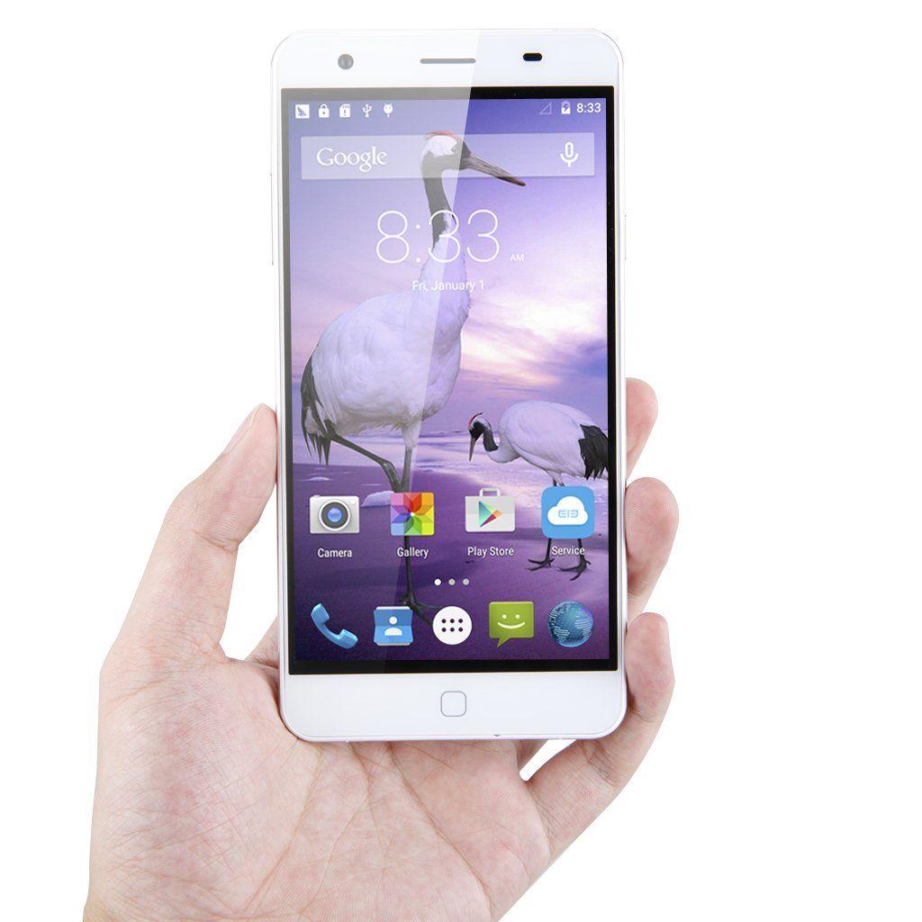 Amazon com: Elephone White P7000 5 5 inch Android 5 0
