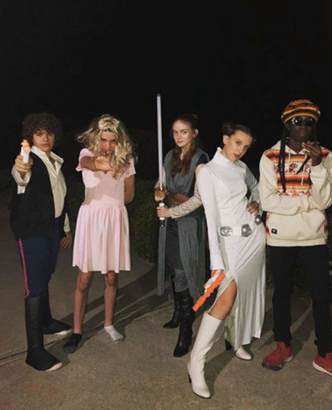 Sexy, Scary and Sweet: The Best Celebrity Costumes of Halloween 2018