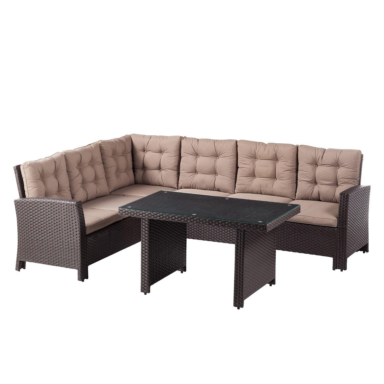 Essgruppe Salerno 2 Teilig Kaufen Home24 Outdoor Lounge Mobel Esstisch Eiche Lounge Mobel
