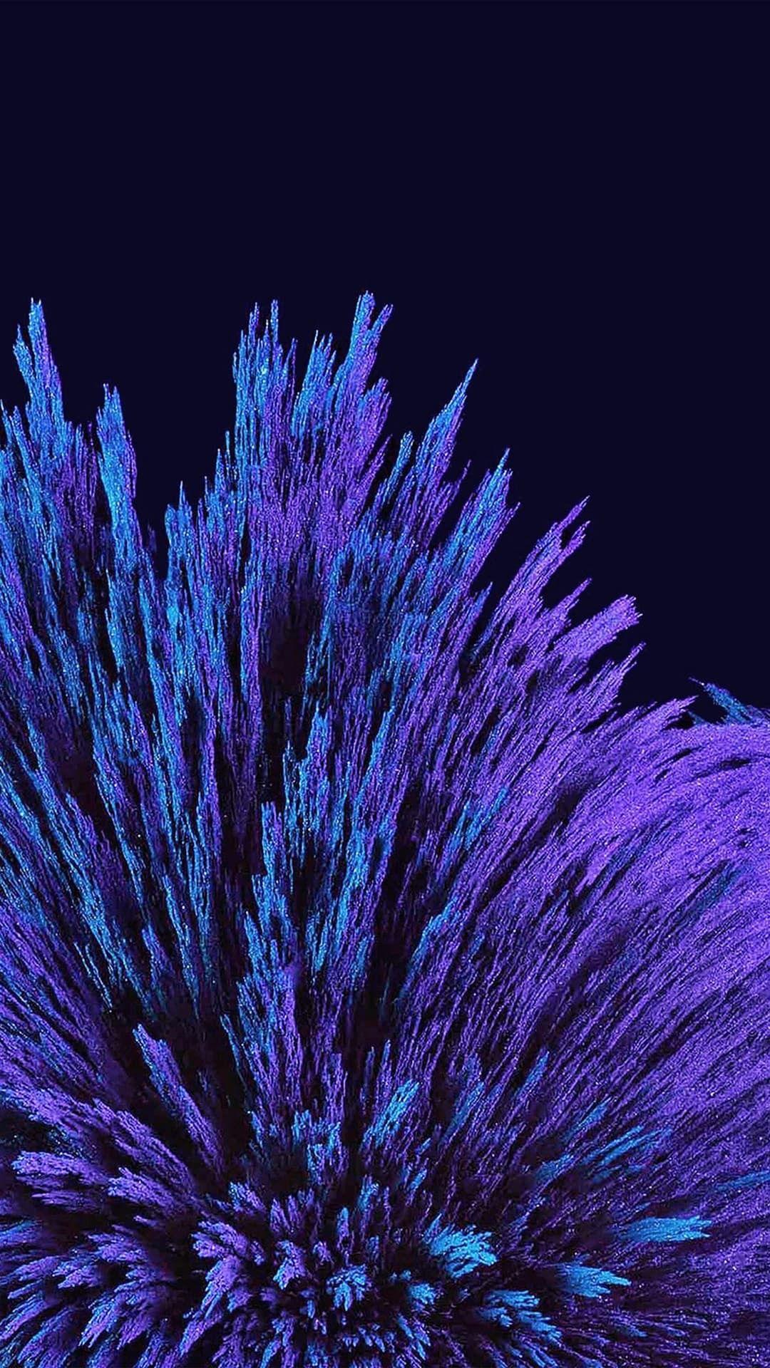 Purple Indigo Violet Luxurydotcom Dark Blue Wallpaper Dark Blue Paint Blue Wallpaper Iphone