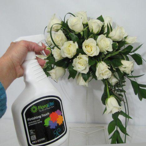 Fresh Flower Wedding Bouquet - Easy DIY Flowers - Free ...
