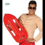 Salvavidas hinchable para disfraces de vigilante playa o lo que tu quieras.