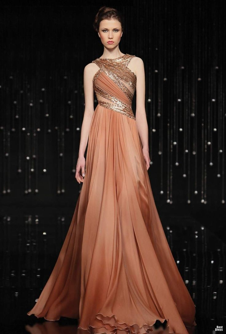 BROWN & BRONZE DRESS | Gold, Silver, &Bronze Medal Gowns | Pinterest