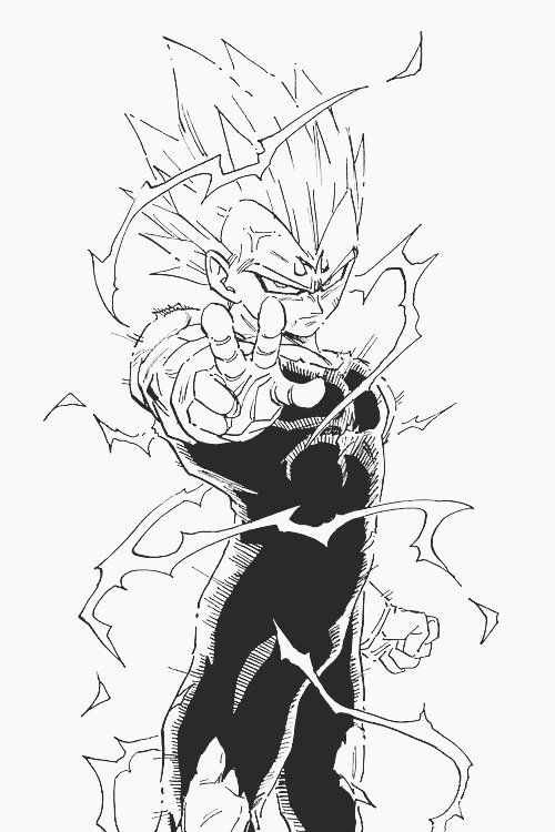 Majin Vegeta Dragonball Z Dragon Ball Dragon Ball Z Dragon