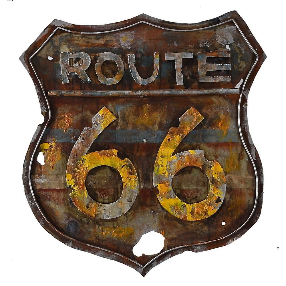 Retro route metal art by urban port fruugo mirrors