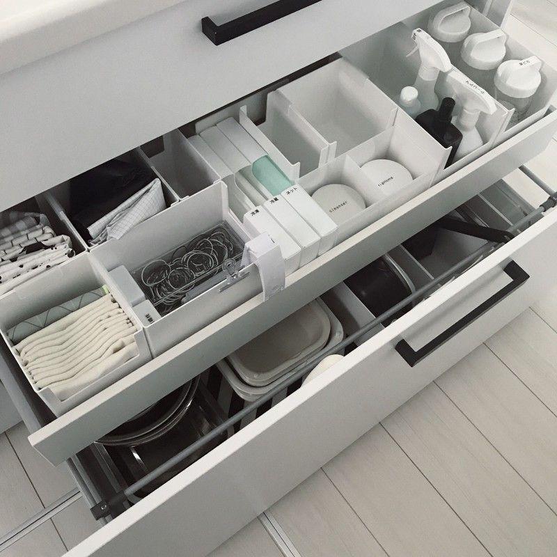 収納 カインズのスキットが優秀 シンク収納 シンク下 キッチン 収納 引き出し