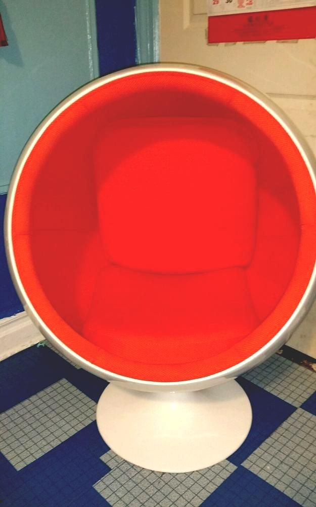 Orange Egg Chair Pro Beach Low Slung Folding White And Red From 299 99 Florida Room