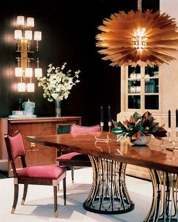 Celerie Kemble Dining Room Design Beautiful Interiors
