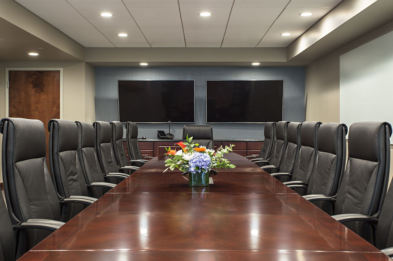Extra Long Table And Great Conference Room Design For A Lancaster, PA Law  Firm. #interiordesign #design #lancasterpa #conferenceroom #table  #furniture # ...