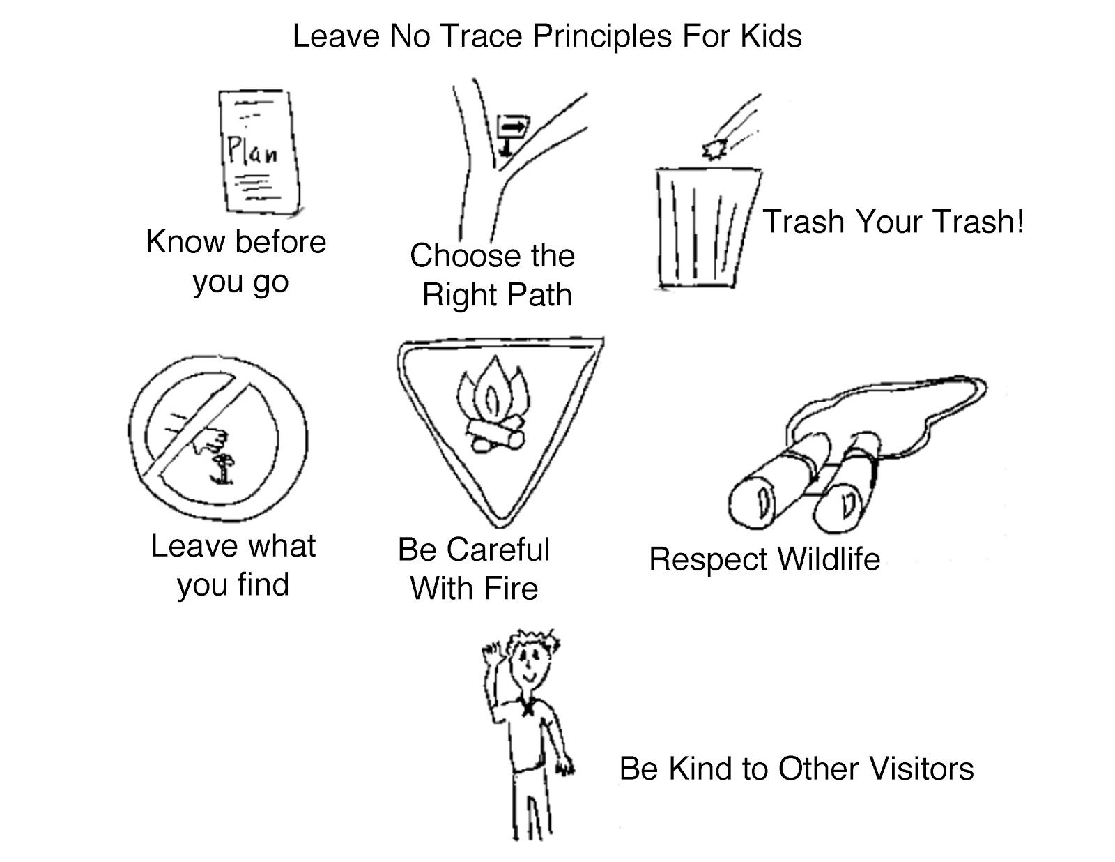 Image Result For Leave No Trace Girl Scouts With Images Girl
