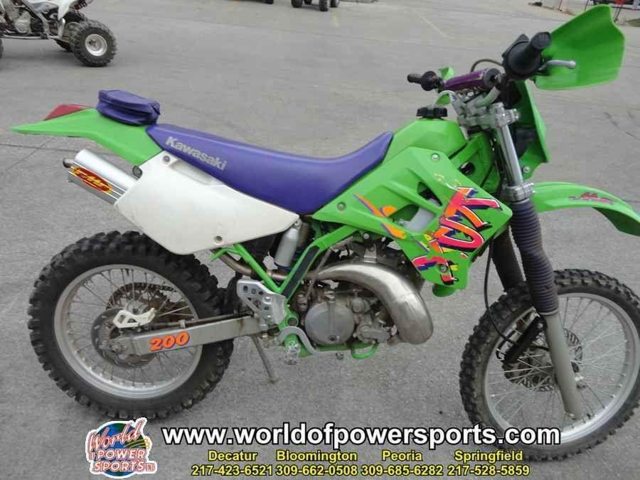 1995 Kawasaki Kdx200 Kdx 200 Kawasaki Motorcycles For Sale Motorcycle