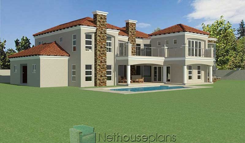 4 Bedroom House Plan South African House Designs Nethouseplansnethouseplans In 2020 Bedroom House Plans African House House Plans