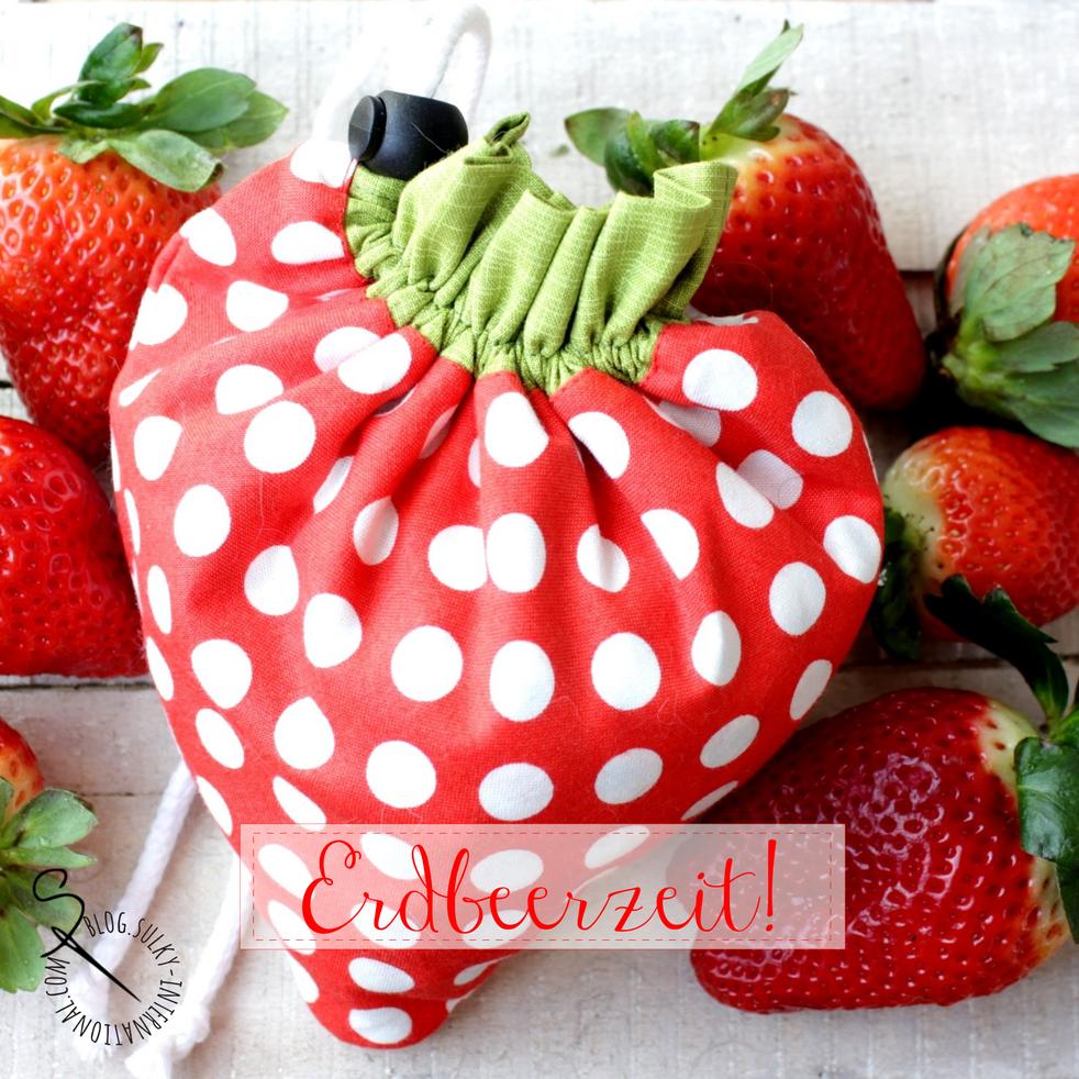 Erdbeertasche kostenlose Vorlage   Sew red!   Pinterest ...