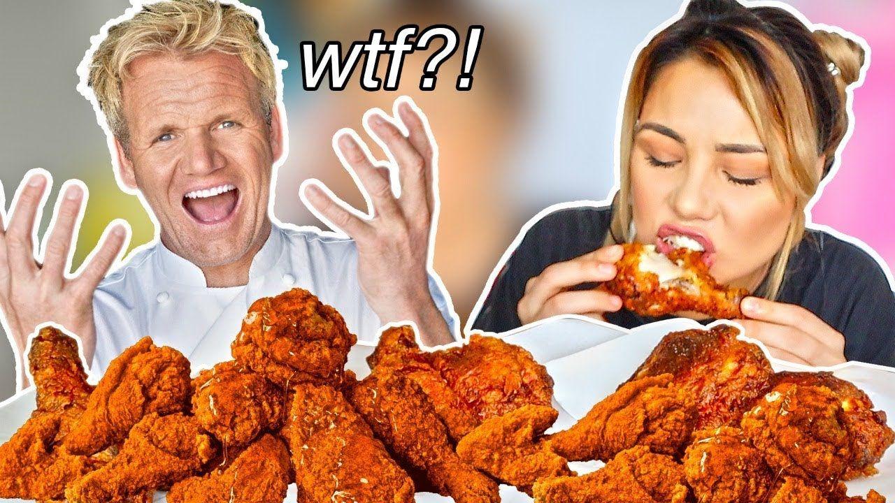 I Made Gordon Ramsay S Buttermilk Fried Chicken 먹방 Mukbang Buttermilk Fried Chicken Chicken Fried Chicken