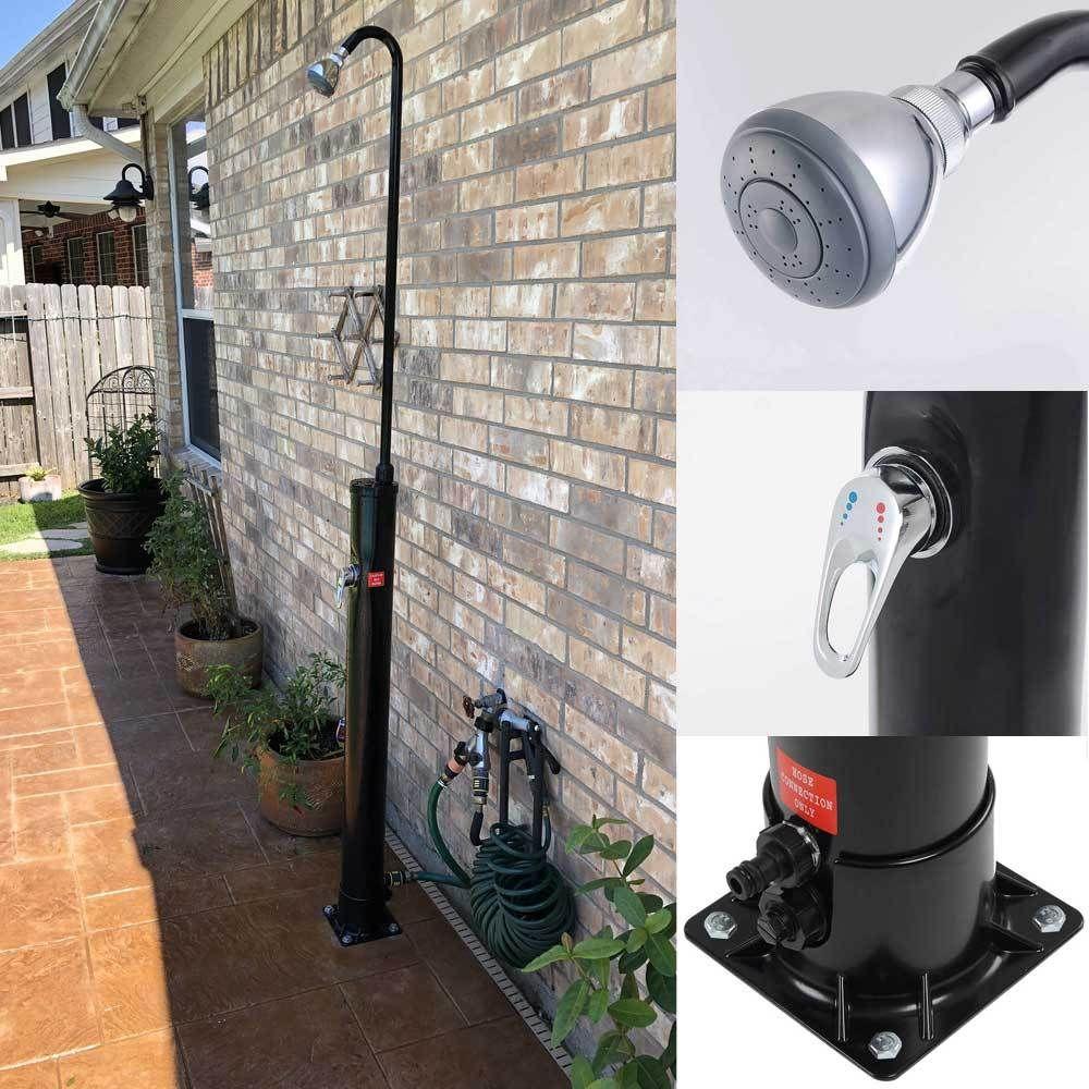Thediyoutlet Pool Spa Outdoor Solar Shower W Base Sprinkler 2 3