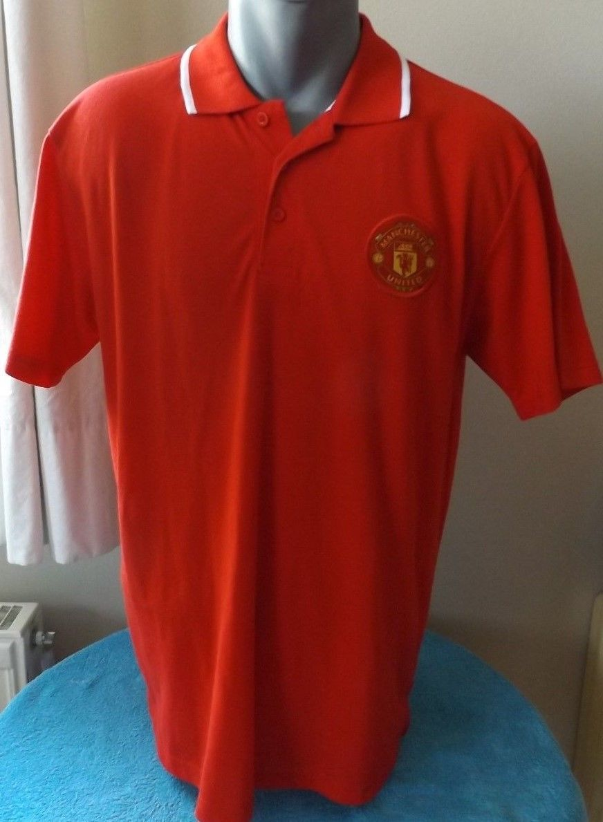 c47adef25e5 Details about MANCHESTER UTD Football Polo Shirt Camiseta Maillot ...