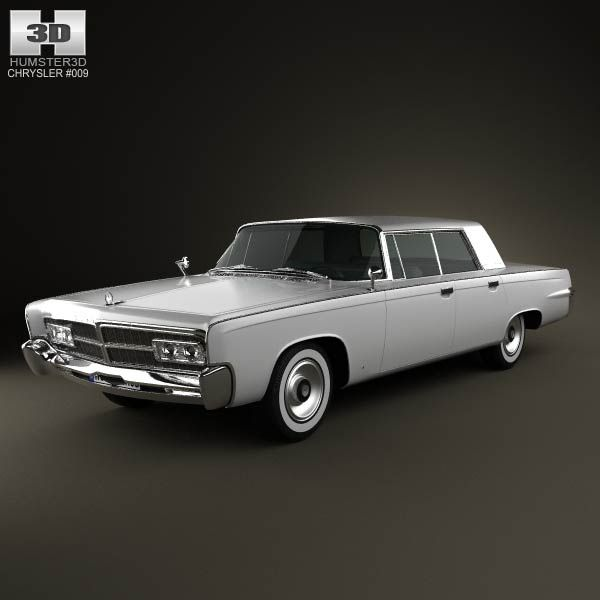 Chrysler Imperial Crown 1965 3d Model From Humster3d.com