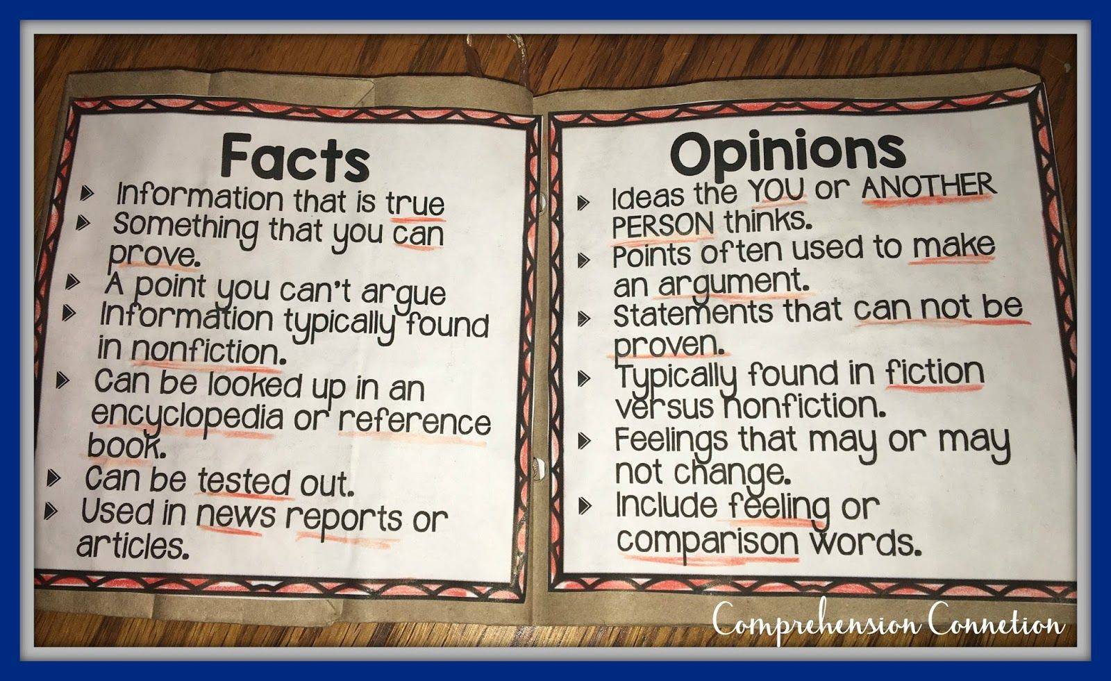 hight resolution of Teaching Fact and Opinion with Finding Winnie   Comprehension Connection    Fact and opinion