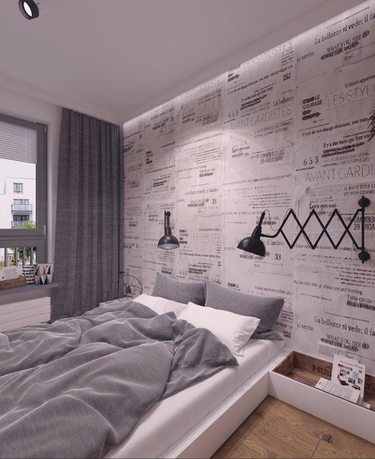 Mała Sypialnia W Mieszkaniu Inspiracja Homesquare