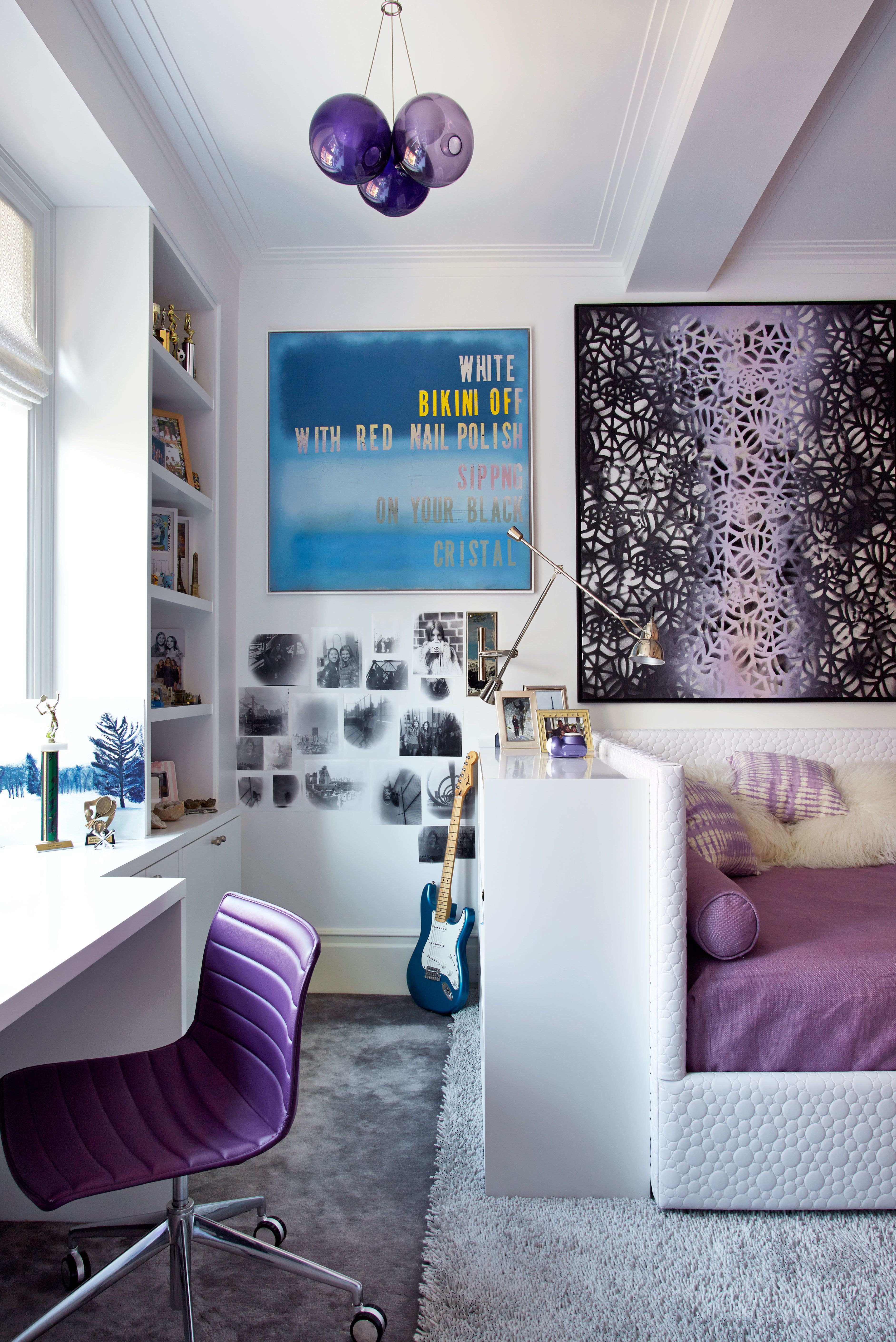 Luxury Showcase For Living Room Royal Art Deco: David Mann Designs A New York City Apartment