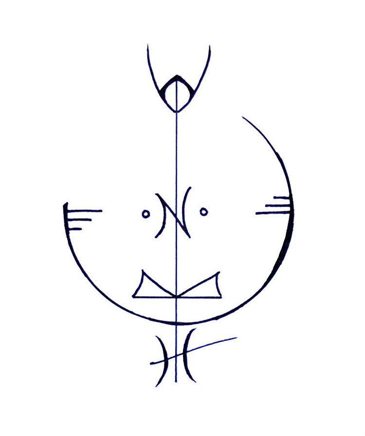 A Sigil For Better Mental Health Magic Symbols Pinterest