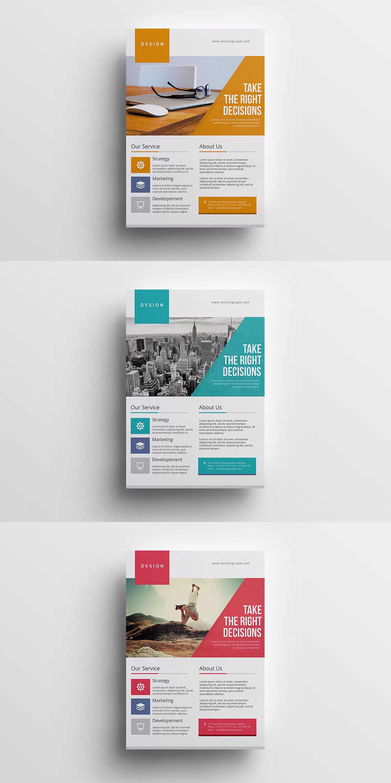Multipurpose Business Flyer Template Psd Flyer Design Templates