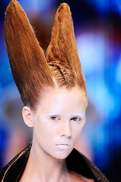 wild crazy hair styles halloween