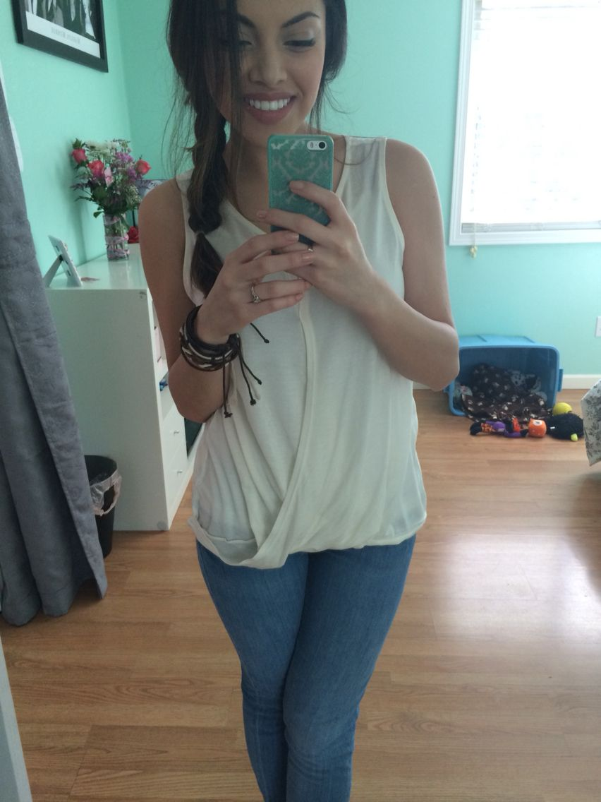 White shirt, ootd