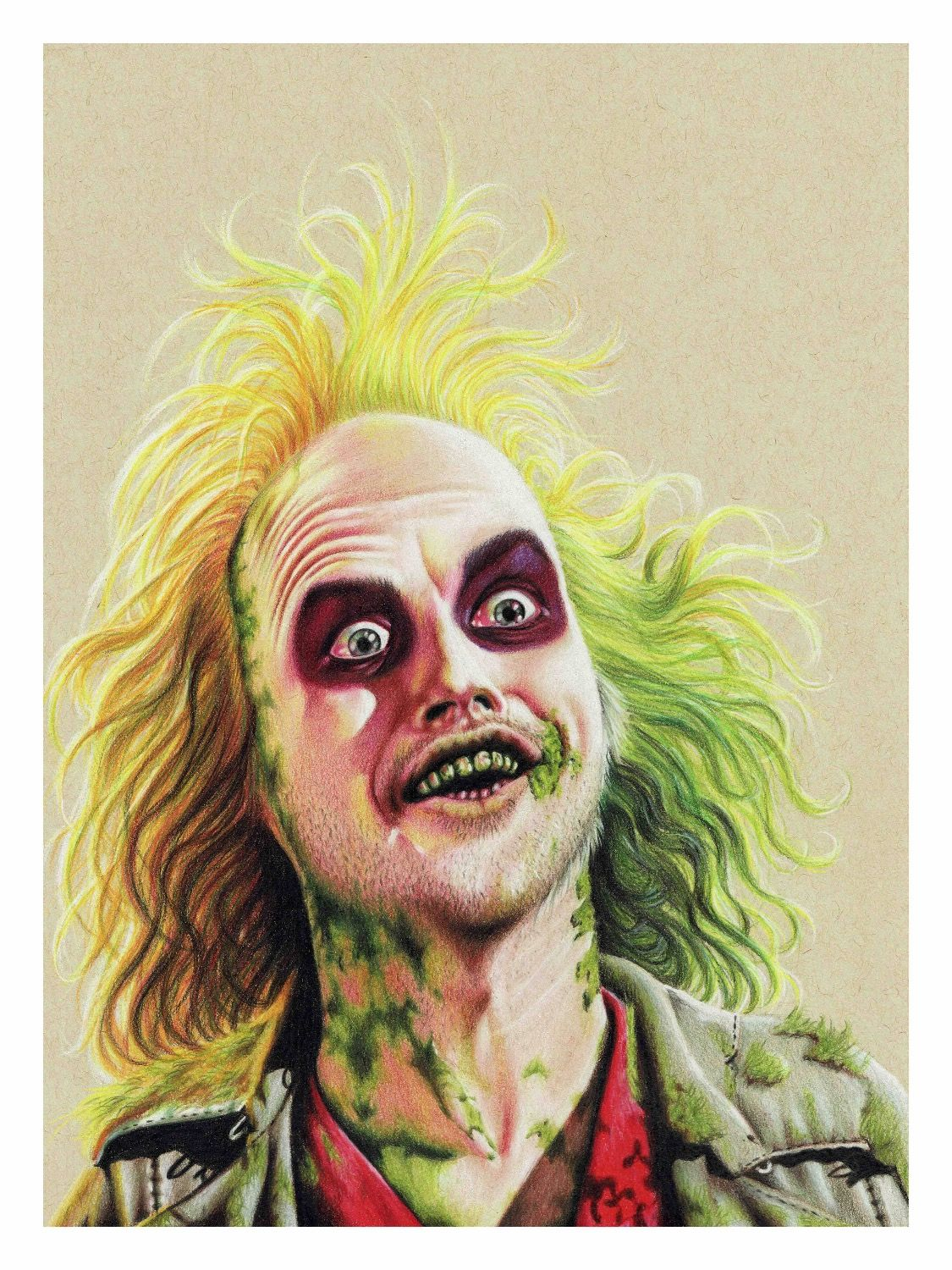 Beetlejuice #beetlejuice #timburton #michealkeaton #drawing #movie ...