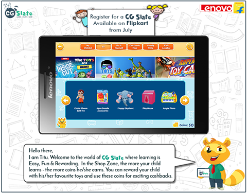 In Titu's world, the more children learn, the more they earn. There are exciting rewards and cashbacks too! Register now at http://bit.ly/cgslateregister3 and get a chance to win a Free CG Slate for your genius!  #Child #Education #CGSlate
