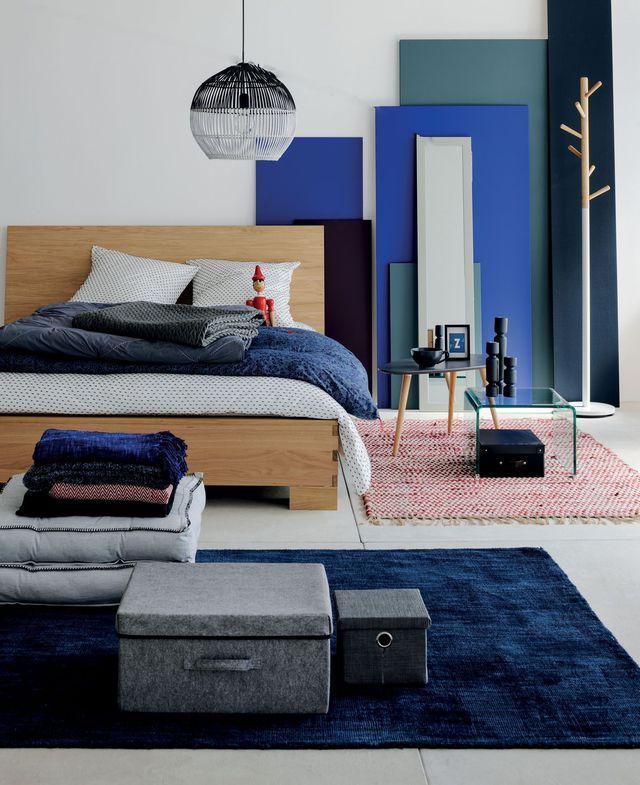 Déco chambre  des idées pas chères Pantone, Bedrooms and Decoration - peinture chambre gris et bleu