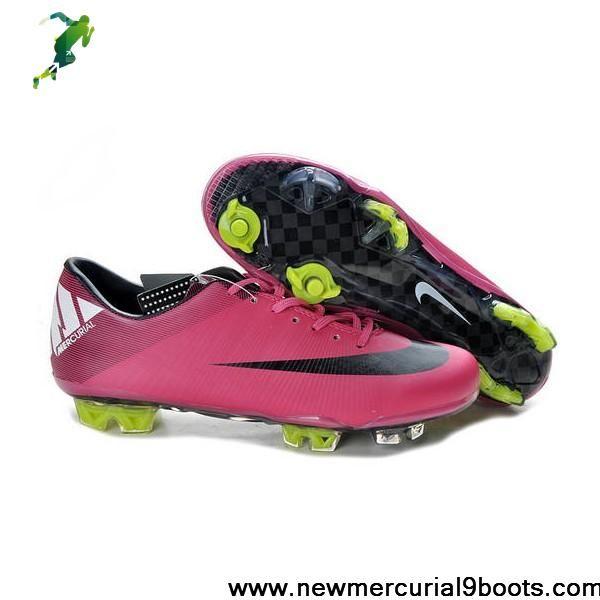CR Nike Mercurial Vapor Superfly III FG Rose Black Volt