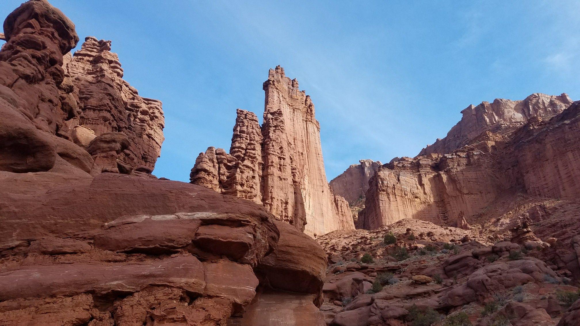 Fisher Towers Hike, near Moab - TakeMyTrip.com