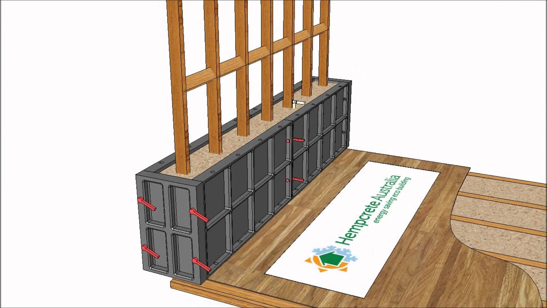 Application Of Hempcrete In A Post And Beam Construction Sustainable Building Materials Post And Beam Energy Efficient Buildings