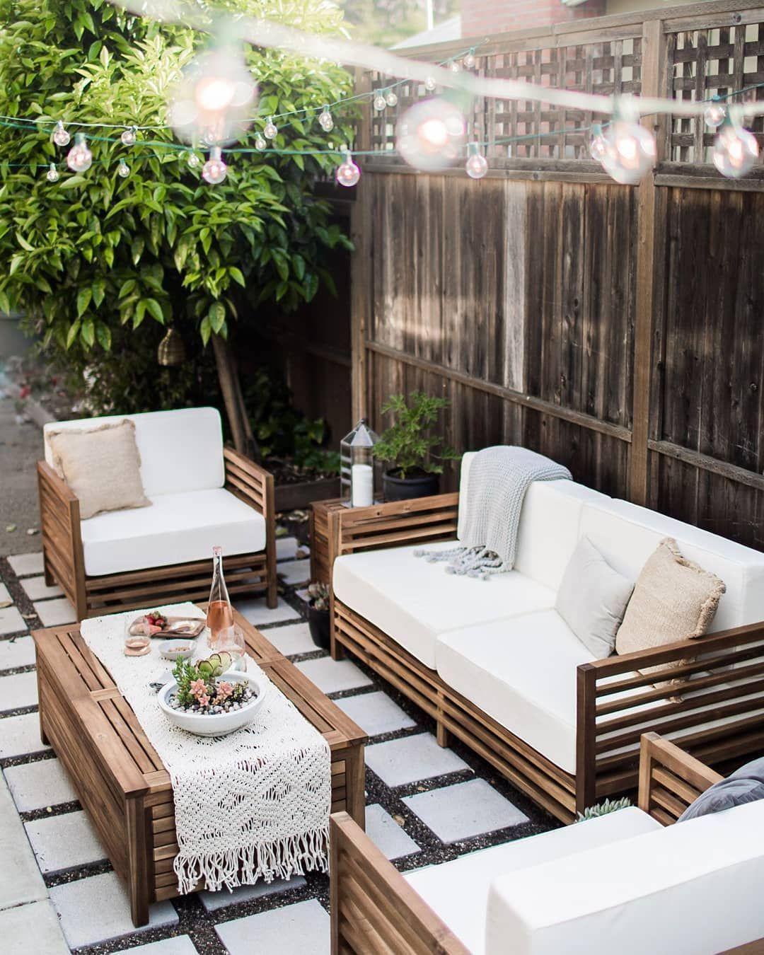 Outdoor Patio Outdoorfurniture Landscape Green Garden