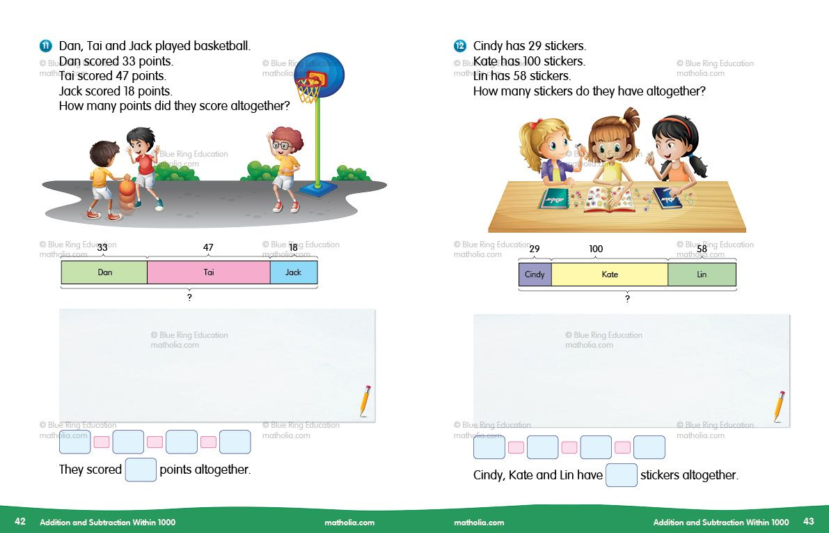 Addition And Subtraction Within 1000 Activity 4 Part 6 Math Addition Games Play Therapy Techniques Addition And Subtraction Primary maths addition and