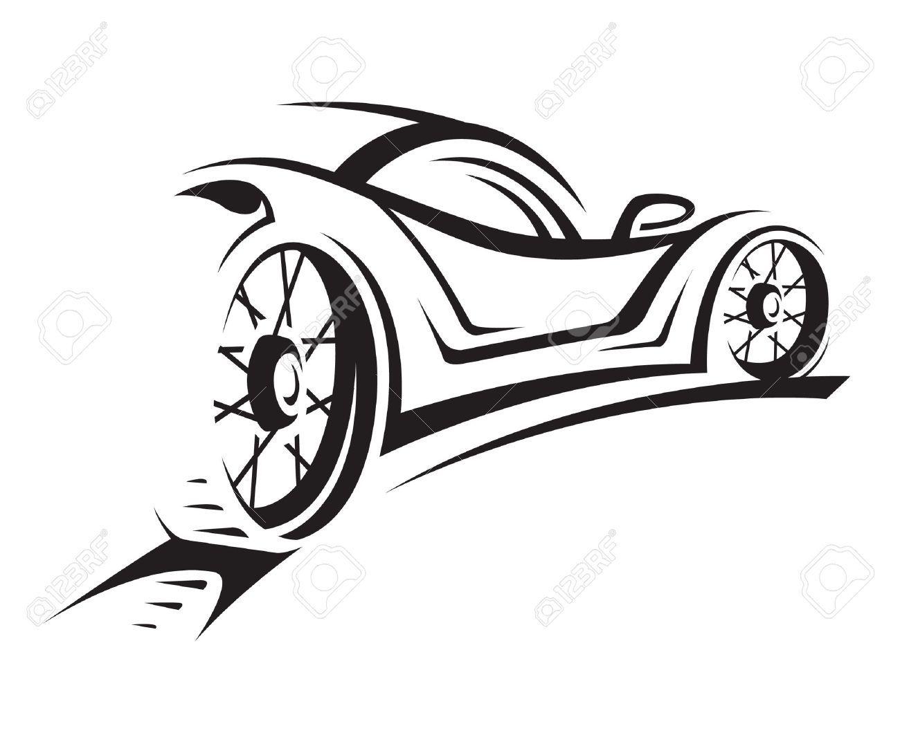 Race Car Silhouette Clipart Clipartfest Casino Pinterest Car